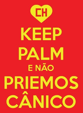 CAMISETA KEEP PALM