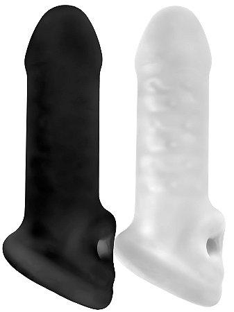 Capa com Anel para Escroto Fat Boy Thin (14 cm)