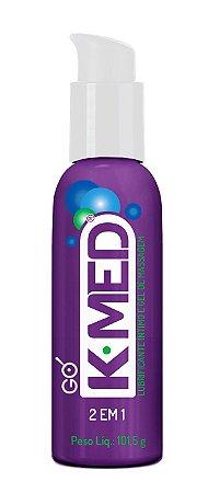 Gel de Massagem e Lubrificante Íntimo K-MED 2 em 1