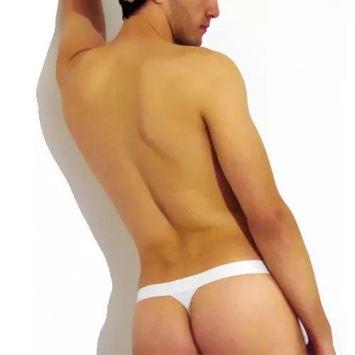 Cueca Fio Dental Thong Branca