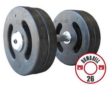 Dumbell Injetado 26 KG - PAR