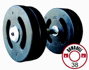 Dumbell Injetado 38 KG - PAR