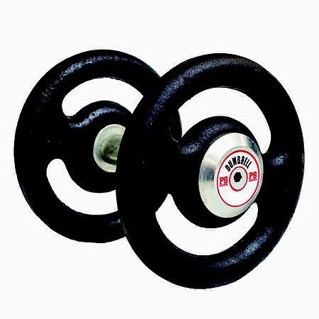 Dumbell de Ferro 34 KG (PAR)