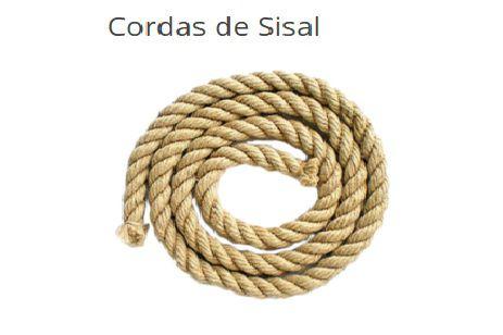 CORDA SISAL 10 METROS - 50MM