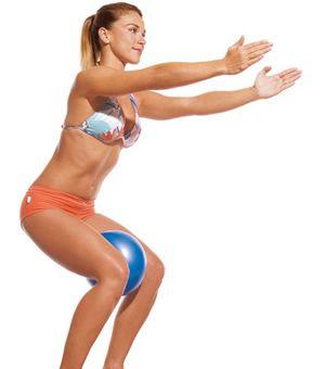 Bola de exercicio Overball 25 cm