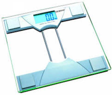 BALANÇA DIGITAL LCD ILUMINADO CAP.180KG - VIDRO BIO