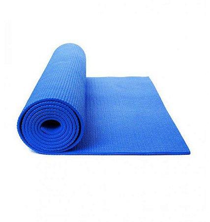 Tapete de Yoga e Pilates EVA serigrafado Azul