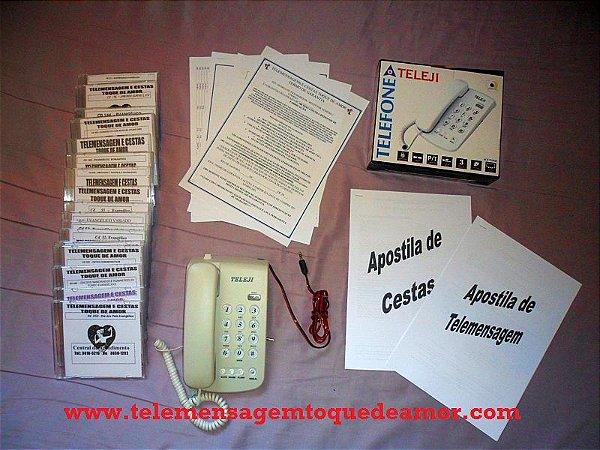 Kit de telemensagem Nº 11 Evangélico para som e pc