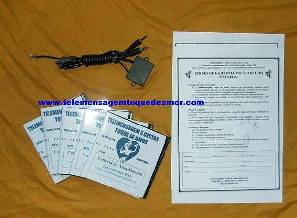 Kit de telemensagem Nº 16 telebox para linha fixa