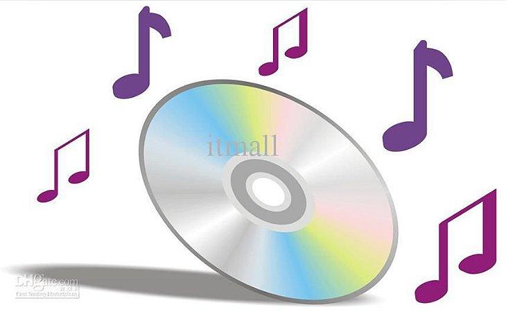 Pacote de 10 cds de telemensagem para som