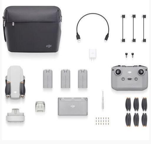 Dji Drone Mavic Mini 2 Fly More Combo + Anatel + Garantia Brasil