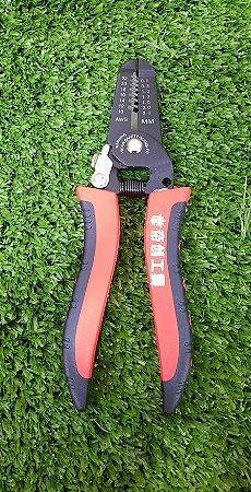 Alicate de decapar e cortar cabo PV-LT005