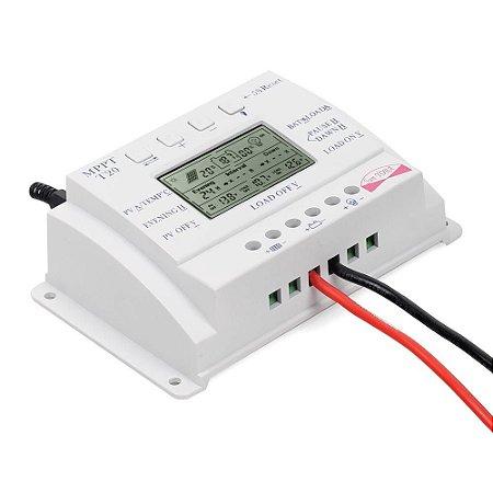 Controlador De Carga Solar 20a  12/24v T20