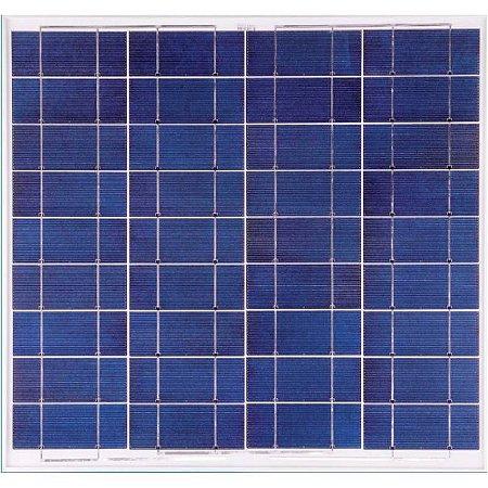 Painel Solar Fotovoltaico Policristalino 55 Watts 12V