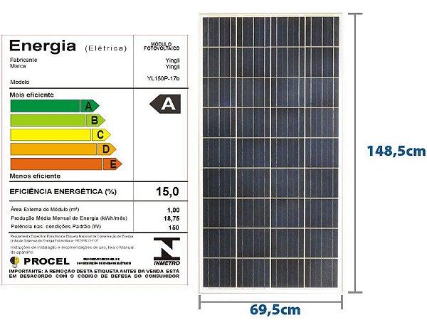 Painel Solar  150 W Yingle