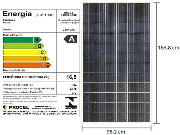 Painel Solar 260w UPSOLAR