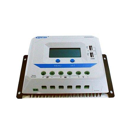 Controlador Solar 45A 12/24 V Epever VS4524AU
