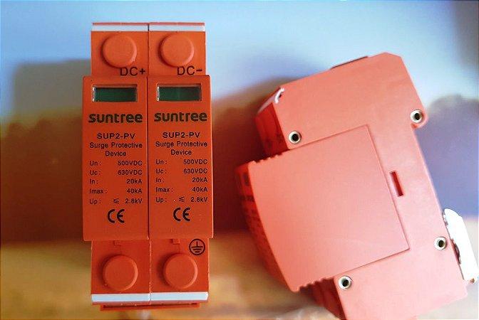 DPS De Proteção Contra Surtos2P Dc 500v 40ka-20ka SUNTREE