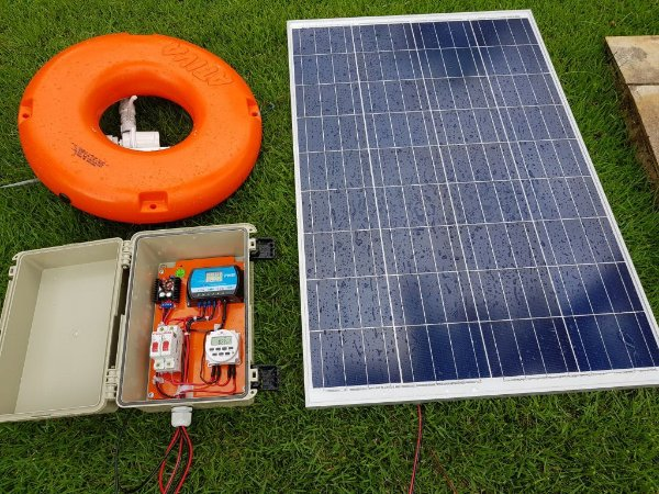Aerador Para Tanques De Peixes Solar Bomba 4000 litros