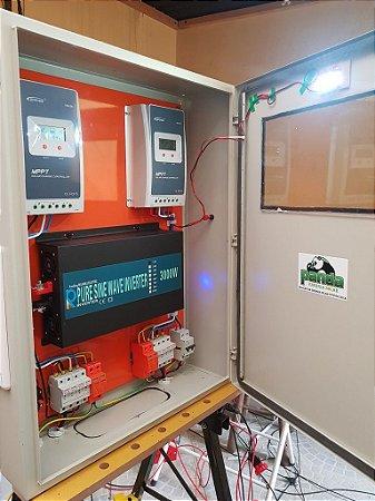 Kit 10 - energia solar 3000 watts