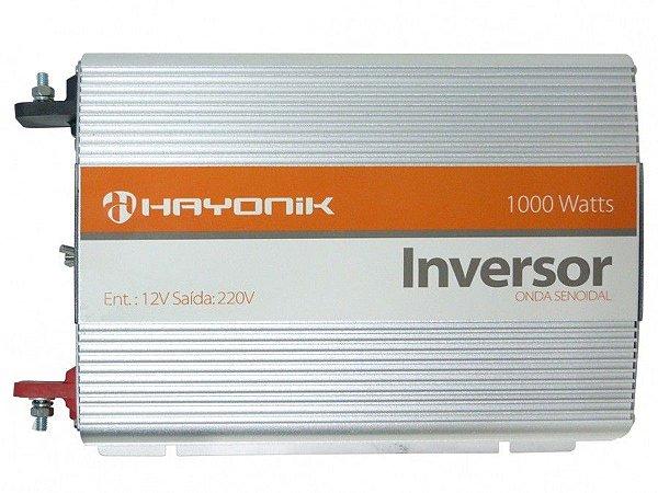 Inversor Onda Senoidal Pura 1000w Hayonik 12vdc/220 volts