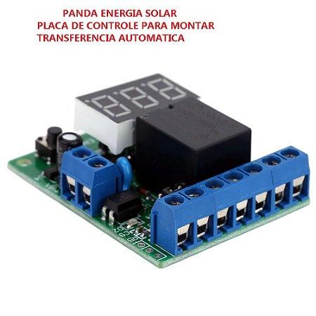 Controlador Automático De Bateria ou Sistema Solar.