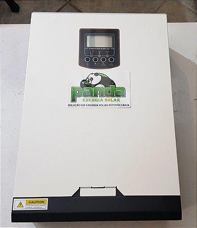 Inversor Hibrido 3000 watts c/ controlador solar 50A Saida 120 volts