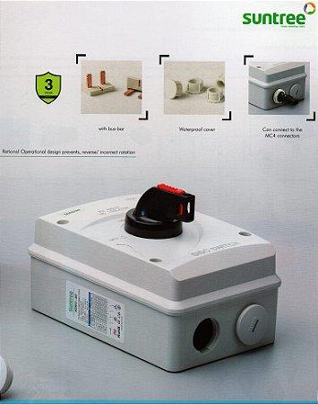 Chave Isoladora Externa dos Painéis solares SISO-40DC - 1000VdC 32A 4 polo