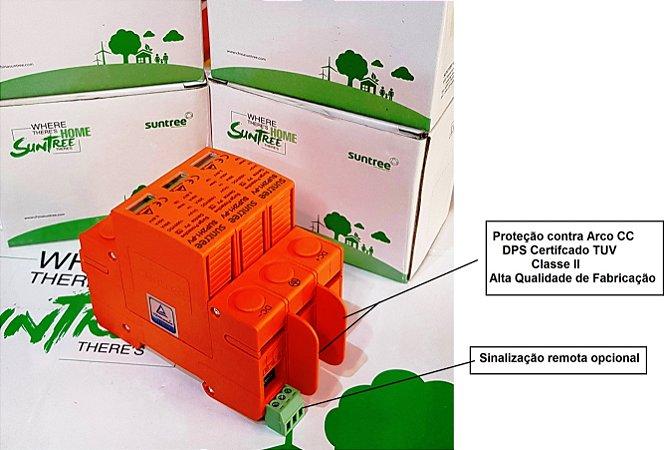 DPS De Proteção Contra Surtos 3P  1000VDC 20-40k SUNTREE