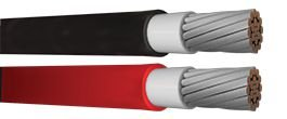 Rolo de 100 mts Cabo Solar CORTOX 1,8 KV 4mm²  Vermelho