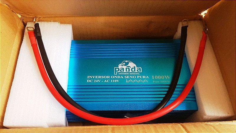 Inversor 1000 watts Onda Senoidal pura 24Vdc saida 110 Vac