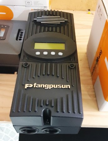Controlador solar 60A MPPT fangpusum 12/24/36/48/60