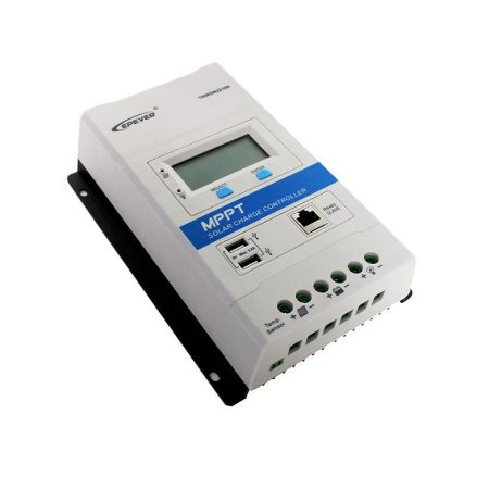 Controlador  MPPT TRIRON 30A 3210N DS1/UCS Epever 100 v  12/24 v lcd