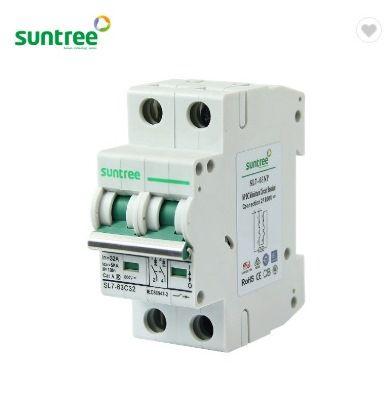 Disjuntor 2P CC 16A 800VDC SL7-63 Suntree