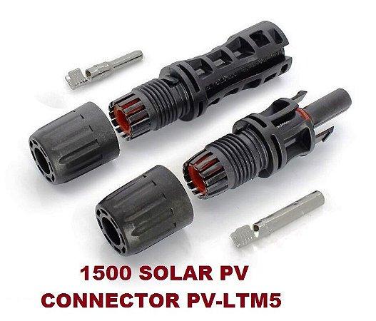 Conector MC4 30A 1500VDC PV-LTM5 Boneng (50 pares)