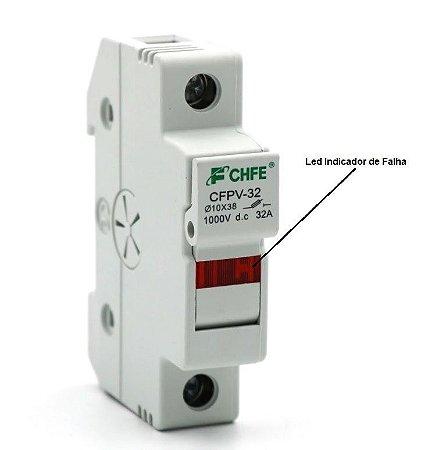 Porta Fusível CC 1000 Vcc  CFPV-32