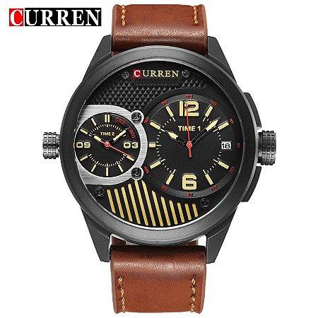 Relógio Curren Dual Time