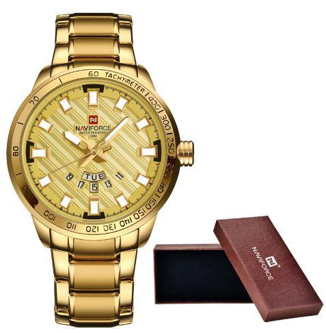 Relógio NaviForce Gold