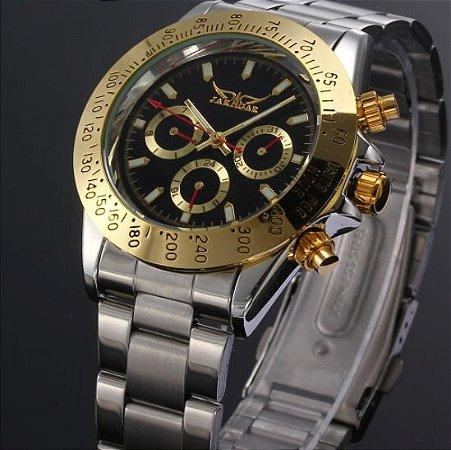 Relógio de Luxo Jaragar Funcional