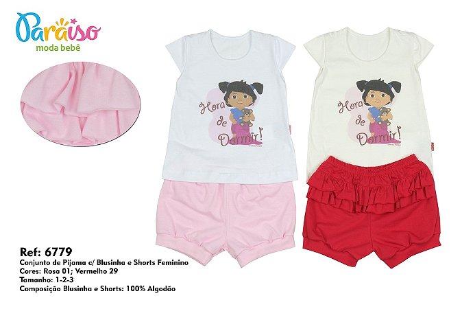 Conjunto de Pijama Turminha Paraiso 6779