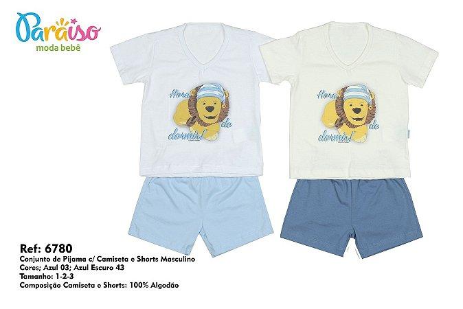 Conjunto de Pijama Turminha Paraiso 6780