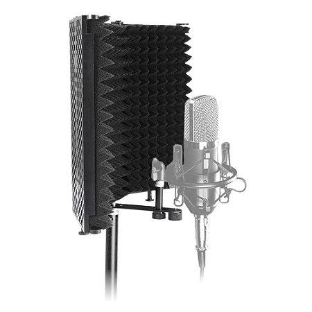 Difusor Acústico Para Microfone E Pedestal Vocal Booth