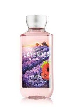 French Lavender & Honey Shower Gel