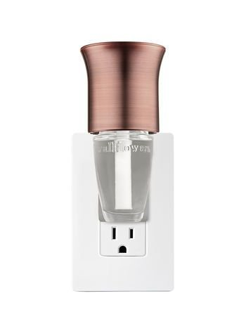 Brushed Faux Copper Flare Wallflowers Fragrance Plug