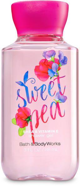 Sweet Pea Shower Gel Travel Size