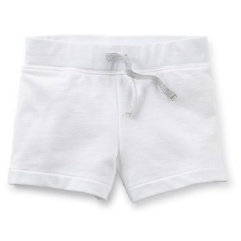 French Terry Shorts branco