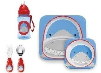 Utensílios Skip Hop Zoo Tubarão