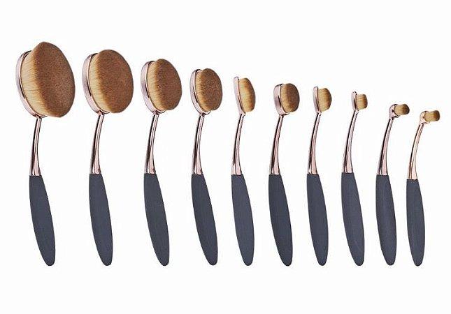 Kit de pincéis Oval Brush