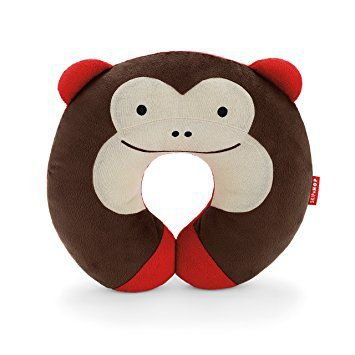 Travesseiro para pescoço Skip Hop Zoo Macaco