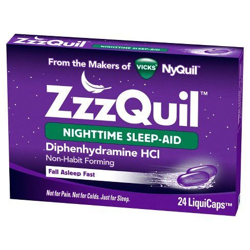 Zzzquil Nighttime Sleep-aid 24 Liquicaps